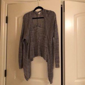 bp open knit cardigan